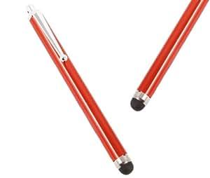 iTALKonline ROJO Premium Executive Advanced Touch Pen Stylus Consejo con punta de goma para LG Optimus LU6200 LTE