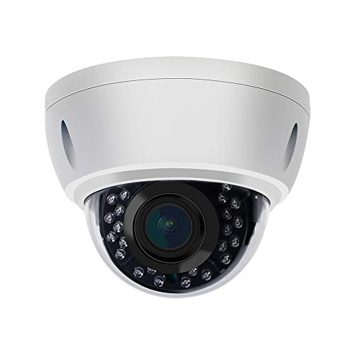 UltraHD 4K (8MP) Varifocal Motorized Dome POE Security Camera VK-IMD78-Z,3840x2160P,98ft Night Vision,2.8-12mm 4X Optical Zoom,Compatible with Hikvision,Support Onvif,IP66.H.265