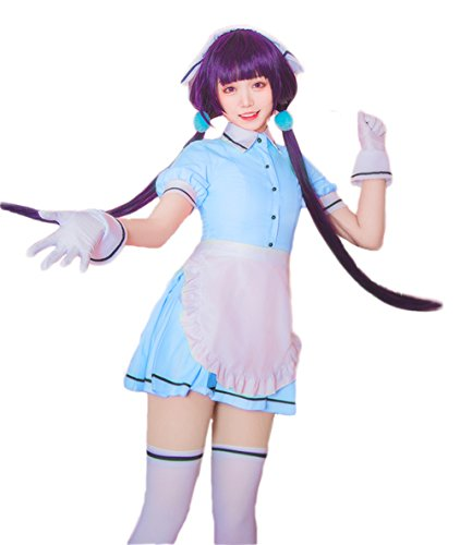 Nuoqi Blend-S Anime Uniforms Cosplay Costumes (Customized, Blue-Kaho -