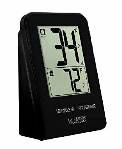 La Crosse Technology Wireless Thermometer - Black