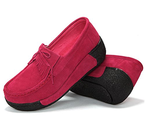 Red Espadrillas HiTime Rose Espadrillas HiTime Donna qHOXqYw
