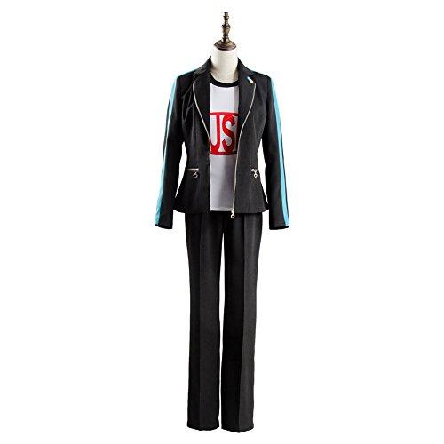 Wolfbar Persona 3 Dancing Moon Night Protagonist Makoto Yuki Uniform Cosplay Costume Male XL