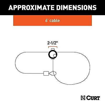 CURT 23666 6-Foot Bike Cable Lock: Automotive