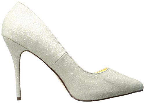 Pleaser - zapatos de tacón mujer Marfil - IVORY GLITTER