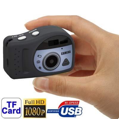 Sportkameras, T7000 1080P Mini Digital Kamera/Mini DV, 3.0 Megapixel, unterstützt TF-Karte