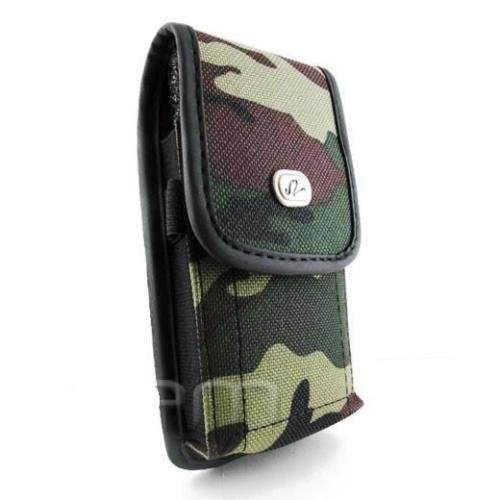 FYL Camouflage Case Pouch Clip for Verizon Gzone Type S, Type V, Rock, Boulder c711