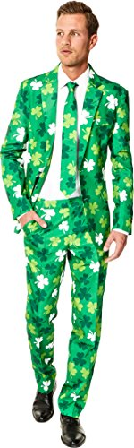 St Patricks Day Suit (OppoSuit Suitmeister St. Patrick's Day Clovers Suit)