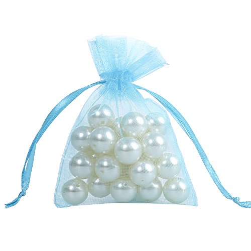 Blue Fabric Party Bags - 9