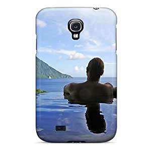 Cute High Quality Galaxy S4 Couple In Pool Case