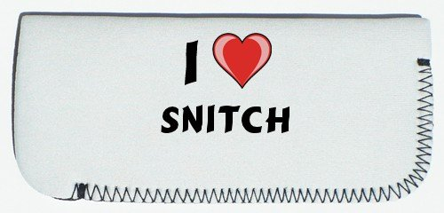 Glasses Case with I Love Snitch (first name/surname/nickname) SHOPZEUS