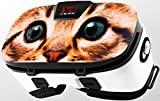 Stickers for Virtual Reality Goggles by VR WEAR 3D VR Glasses for iPhone 6/7/8/Plus/X & S6/S7/S8/Note and Other Android Smartphones with 4.5-6.5' Screens - Kitty