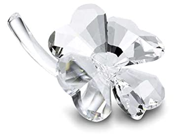 b8d3a39dbb9a26 Image Unavailable. Image not available for. Colour  Swarovski Four-leaf  Clover Figurine