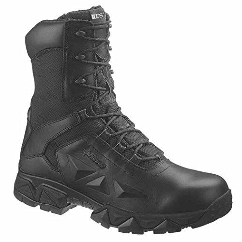 Bates Women's Delta Nitro-8 Zip Tactical Duty Boot,Black,9 M US