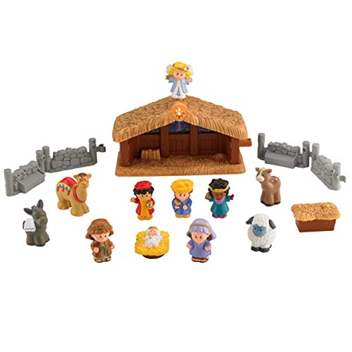Fisher Price Little People A Christmas Story Import It All
