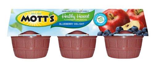 Motts Healthy Harvest (Mott's, Healthy Harvest, Blueberry Delight Applesauce, 6 Count, 23.4oz Package (Pack of 4))