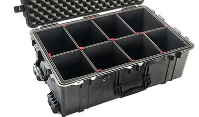 TrekPak Divider System to fit the Pelican 1650 case. Comes with 1 TSA - Kit System Fit