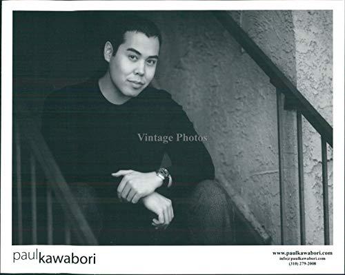 2007 Press Photo - Vintage Photos 2007 Press Photo Musician Paul Kawabori Artist Singer Songwriter Handsome 8X10