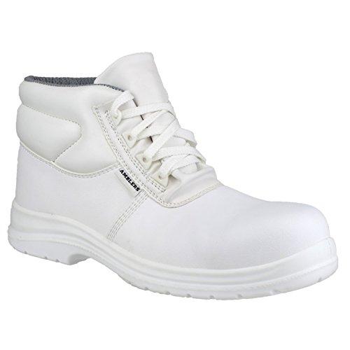 Amblers - Calzado de protección para hombre Blanco - blanco