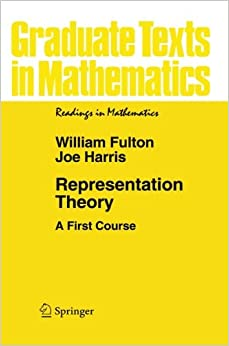 Representation Theory: A First Course (Graduate Texts In Mathematics) Mobi Download Book
