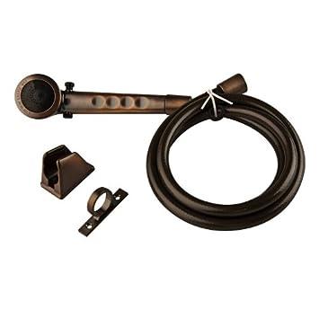 Amazon.com: Dura Faucet (DF-SA130-ORB) Bronze RV Shower Head and ...