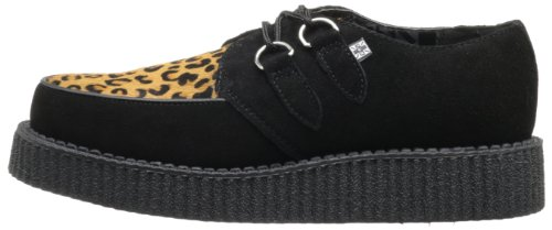 Tuk And Baskets Mode Creeper black Adulte Lo Mixte Noir Sole Leopard T1rqnZwT