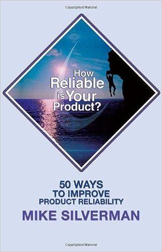 ¿Qué tan confiable es su producto?: 50 formas de mejorar la confiabilidad del producto