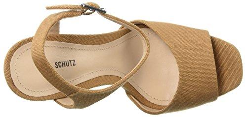 Schutz Women's Jane Heeled Sandal Desert e3uUQF