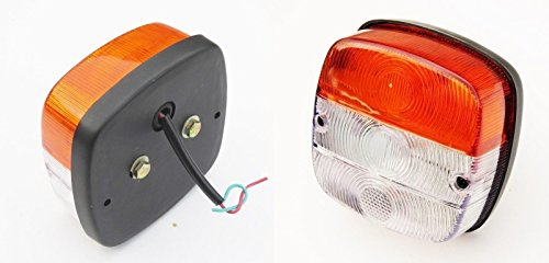 FRONT Side Indicator Parking Flasher Massey Ferguson Tractors Light (lh+rh) 12V -11009601