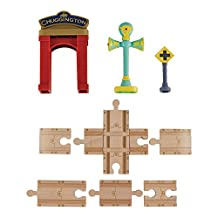 Chuggington Wooden Railway Track Accessory Pack featuring Vee