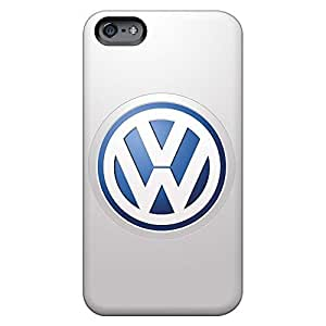 Colorful phone cover skin Durable Iphone Cases case cover iphone 4 /4s - volkswagen logo