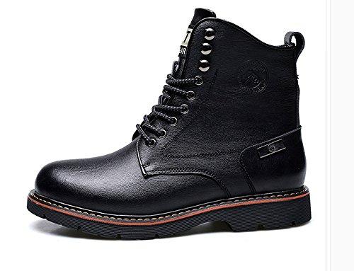 HL-PYL - Stiefel Martin Stiefel Warme kurze kurze kurze Stiefel Stiefel Stiefel und Schuhe aus Baumwolle 38 Schwarz c7933e