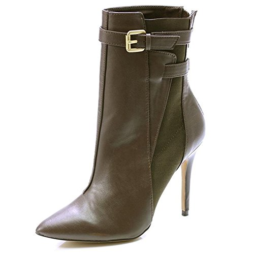 Charles by Charles David PADORA CB207-K4 Ankle Boot Brown US Womens 9M -