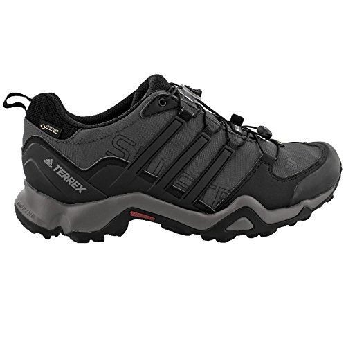 adidas outdoor Men's Terrex Swift R GTX Dark Grey/Black/Granite Hiking Shoes - 10 D(M) US