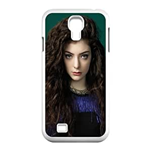 Cute TPU Lorde Samsung Galaxy S4 9500 Cell Phone Case White
