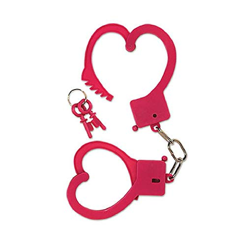 Bargain World Heart Handcuffs (with Sticky Notes)