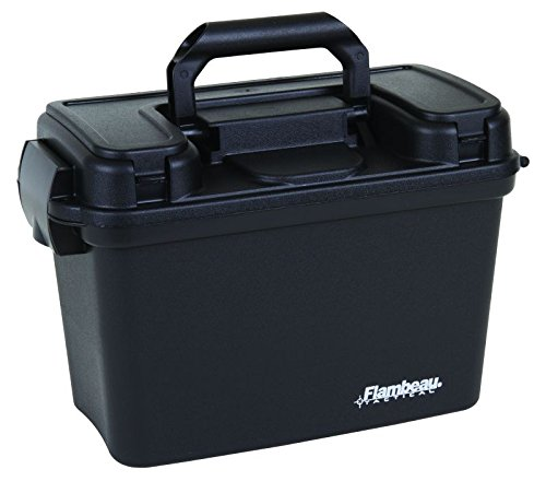 (Flambeau Outdoors 6418DT Hunting Tactical Dry Box, Black - 14-Inch)