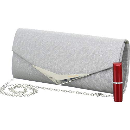 De Bag Tamara Mano Mujer silver Plateado Carteras Clutch Tamaris 7SxEIaS