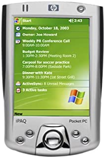 amazon com compaq ipaq 3955 color pocket pc electronics rh amazon com