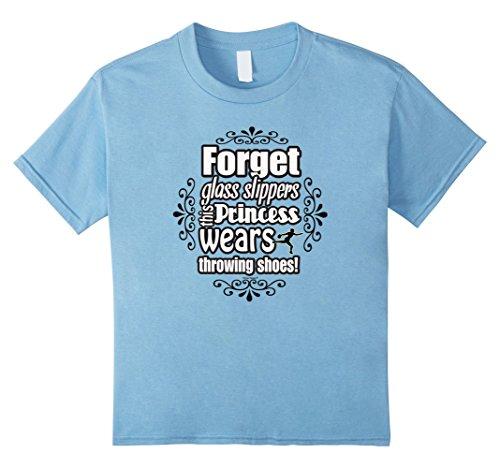 Kids Throw Happy: Princess Discus Thrower T-Shirt 8 Baby ...