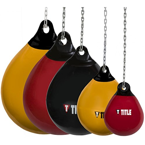 TITLE Wave H2O Rotund Heavy Bag, Red, 28 lbs