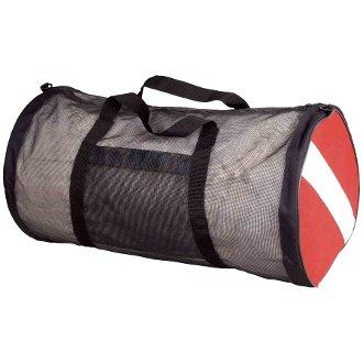 (New ScubaMax Dive Flag Mesh Duffel Bag)