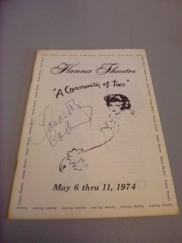 Program Autographed Magazine (Vintage Claudette Colbert SIGNED AUTOGRAPHED Program 1974