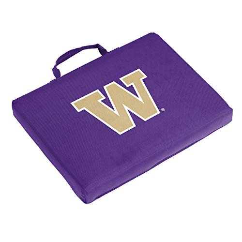 Logo Brands NCAA Washington Huskies Unisex Bleacher Cushion Bleacher, Purple