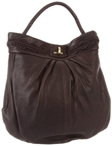 treesje-womens-tribe-collection-braided-detail-hobo-black