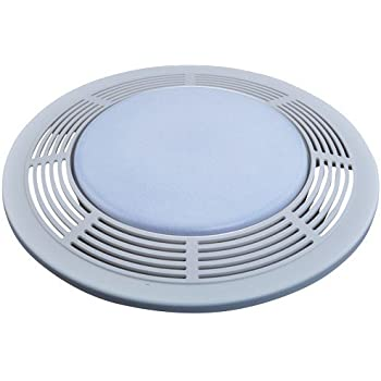 NuTone 8664RP Designer Fan and Light with Round White