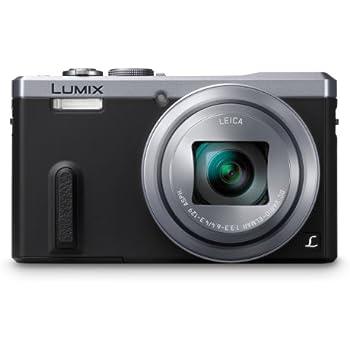 Panasonic DMC-ZS40S Digital Camera with 3.0-Inch LCD (Silver)