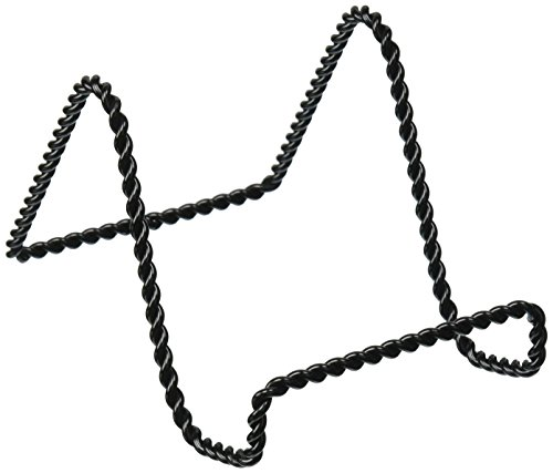 Easel Wire - Darice 5202-65 Twisted Wire Easel Stand, 3-Inch, Black