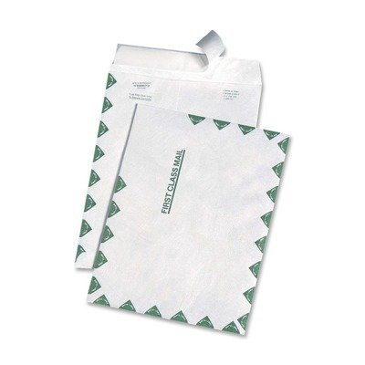 QUAR3130 - Quality Park Leather Tyvek First Class Envelope by Quality Park