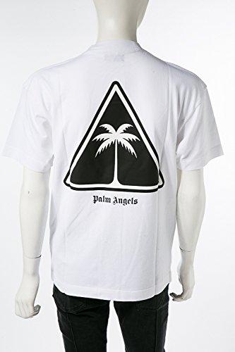 (パームエンジェルス) PALM ANGELS Tシャツ ホワイト メンズ (AA001F18 413016) 【並行輸入品】 B07FQJG186 XL|ホワイト ホワイト XL