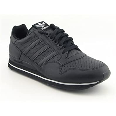 9f91928c0 Adidas ZX 500 RUN Mens 13 Black Strip trainers New G20020 UK 8.5   Amazon.co.uk  Shoes   Bags